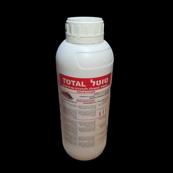 טוטאל הדברה | חומר הדברה טוטל לטרמיטים
